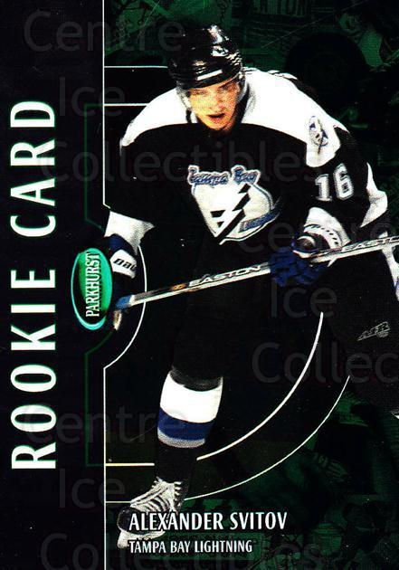 2002-03 Parkhurst #229 Alexander Svitov<br/>5 In Stock - $5.00 each - <a href=https://centericecollectibles.foxycart.com/cart?name=2002-03%20Parkhurst%20%23229%20Alexander%20Svito...&quantity_max=5&price=$5.00&code=268986 class=foxycart> Buy it now! </a>