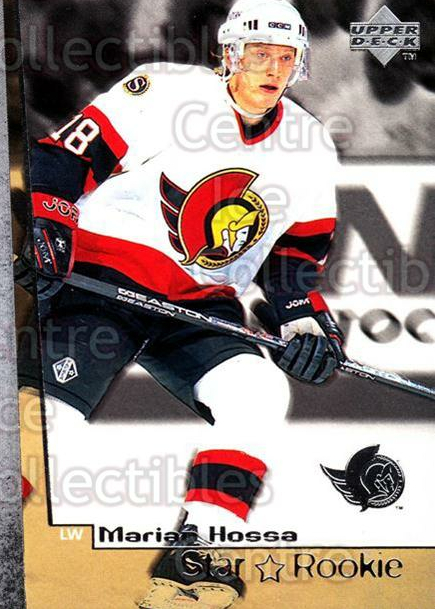 1998-99 Upper Deck #6 Marian Hossa<br/>1 In Stock - $3.00 each - <a href=https://centericecollectibles.foxycart.com/cart?name=1998-99%20Upper%20Deck%20%236%20Marian%20Hossa...&quantity_max=1&price=$3.00&code=269001 class=foxycart> Buy it now! </a>