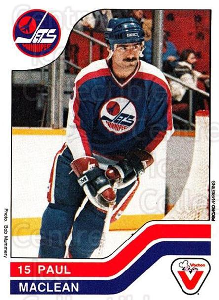 1983-84 Vachon #131 Paul MacLean<br/>4 In Stock - $3.00 each - <a href=https://centericecollectibles.foxycart.com/cart?name=1983-84%20Vachon%20%23131%20Paul%20MacLean...&quantity_max=4&price=$3.00&code=26912 class=foxycart> Buy it now! </a>