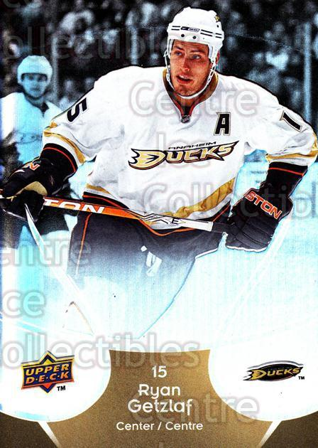 2009-10 McDonalds Upper Deck #1 Ryan Getzlaf<br/>6 In Stock - $1.00 each - <a href=https://centericecollectibles.foxycart.com/cart?name=2009-10%20McDonalds%20Upper%20Deck%20%231%20Ryan%20Getzlaf...&quantity_max=6&price=$1.00&code=269195 class=foxycart> Buy it now! </a>