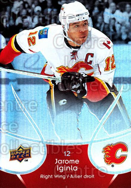 2009-10 McDonalds Upper Deck #7 Jarome Iginla<br/>6 In Stock - $1.00 each - <a href=https://centericecollectibles.foxycart.com/cart?name=2009-10%20McDonalds%20Upper%20Deck%20%237%20Jarome%20Iginla...&quantity_max=6&price=$1.00&code=269201 class=foxycart> Buy it now! </a>