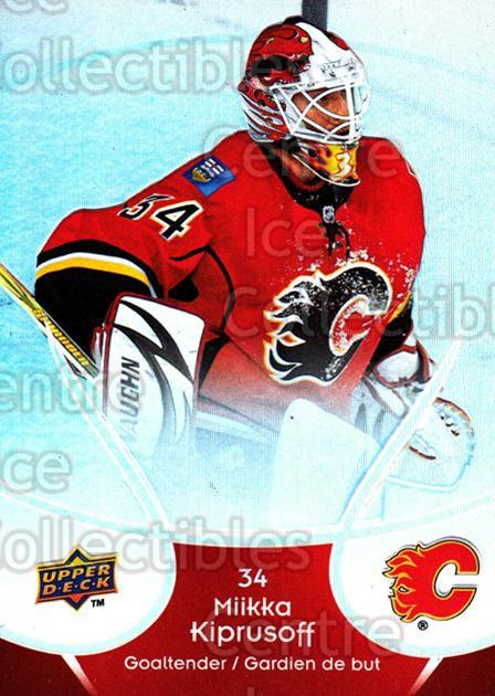 2009-10 McDonalds Upper Deck #8 Miikka Kiprusoff<br/>6 In Stock - $1.00 each - <a href=https://centericecollectibles.foxycart.com/cart?name=2009-10%20McDonalds%20Upper%20Deck%20%238%20Miikka%20Kiprusof...&quantity_max=6&price=$1.00&code=269202 class=foxycart> Buy it now! </a>