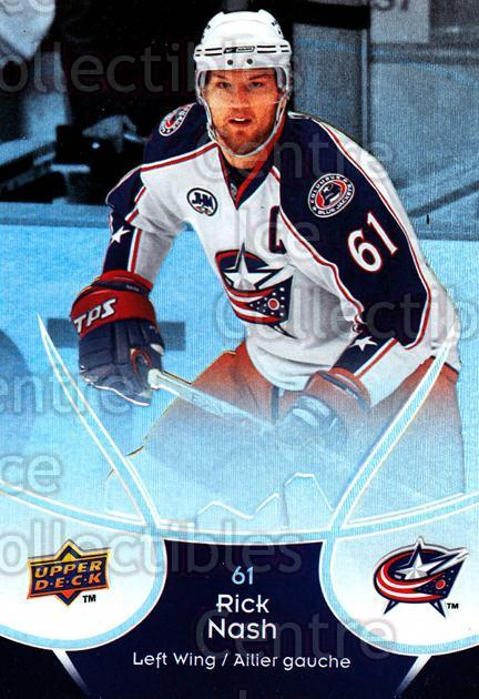 2009-10 McDonalds Upper Deck #14 Rick Nash<br/>1 In Stock - $1.00 each - <a href=https://centericecollectibles.foxycart.com/cart?name=2009-10%20McDonalds%20Upper%20Deck%20%2314%20Rick%20Nash...&quantity_max=1&price=$1.00&code=269208 class=foxycart> Buy it now! </a>