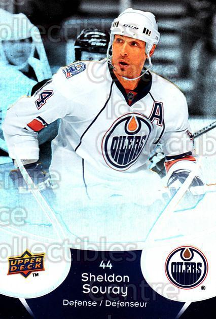 2009-10 McDonalds Upper Deck #20 Sheldon Souray<br/>6 In Stock - $1.00 each - <a href=https://centericecollectibles.foxycart.com/cart?name=2009-10%20McDonalds%20Upper%20Deck%20%2320%20Sheldon%20Souray...&quantity_max=6&price=$1.00&code=269214 class=foxycart> Buy it now! </a>