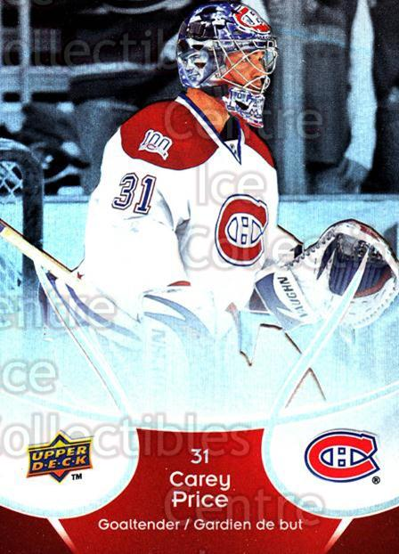 2009-10 McDonalds Upper Deck #24 Carey Price<br/>1 In Stock - $1.00 each - <a href=https://centericecollectibles.foxycart.com/cart?name=2009-10%20McDonalds%20Upper%20Deck%20%2324%20Carey%20Price...&price=$1.00&code=269218 class=foxycart> Buy it now! </a>