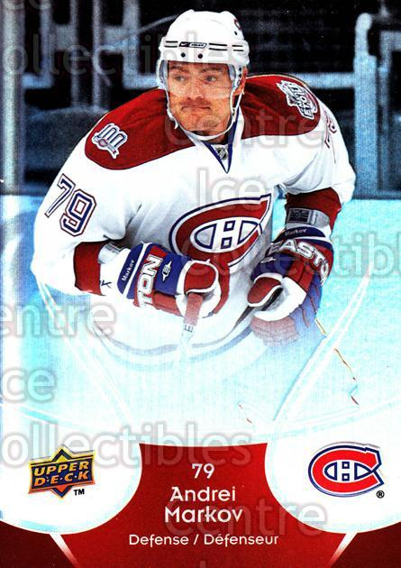 2009-10 McDonalds Upper Deck #25 Andrei Markov<br/>6 In Stock - $1.00 each - <a href=https://centericecollectibles.foxycart.com/cart?name=2009-10%20McDonalds%20Upper%20Deck%20%2325%20Andrei%20Markov...&quantity_max=6&price=$1.00&code=269219 class=foxycart> Buy it now! </a>