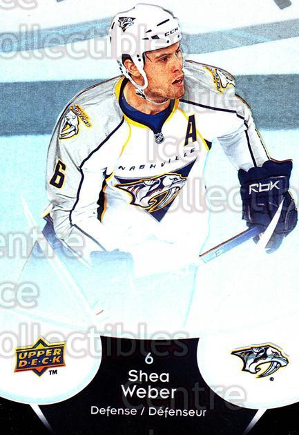 2009-10 McDonalds Upper Deck #27 Shea Weber<br/>6 In Stock - $1.00 each - <a href=https://centericecollectibles.foxycart.com/cart?name=2009-10%20McDonalds%20Upper%20Deck%20%2327%20Shea%20Weber...&quantity_max=6&price=$1.00&code=269221 class=foxycart> Buy it now! </a>