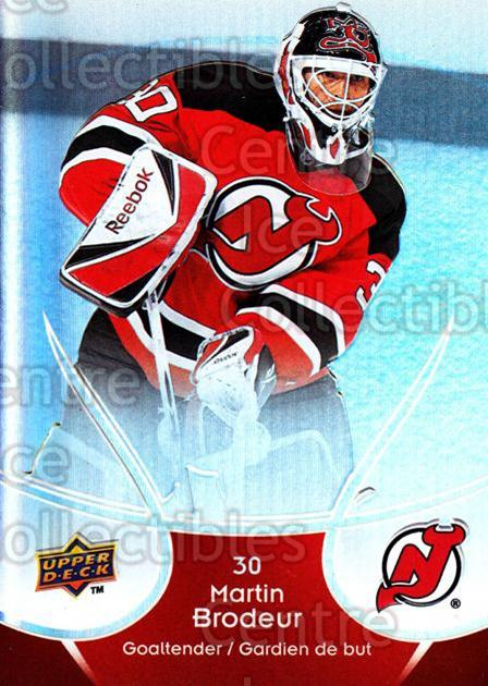2009-10 McDonalds Upper Deck #28 Martin Brodeur<br/>6 In Stock - $2.00 each - <a href=https://centericecollectibles.foxycart.com/cart?name=2009-10%20McDonalds%20Upper%20Deck%20%2328%20Martin%20Brodeur...&quantity_max=6&price=$2.00&code=269222 class=foxycart> Buy it now! </a>