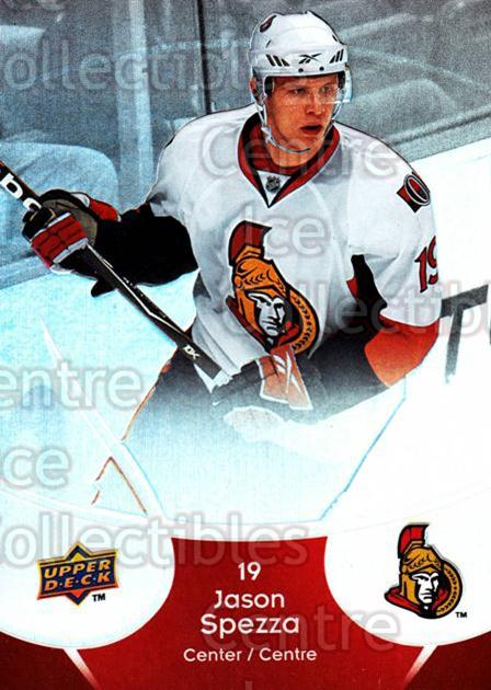 2009-10 McDonalds Upper Deck #33 Jason Spezza<br/>6 In Stock - $1.00 each - <a href=https://centericecollectibles.foxycart.com/cart?name=2009-10%20McDonalds%20Upper%20Deck%20%2333%20Jason%20Spezza...&quantity_max=6&price=$1.00&code=269227 class=foxycart> Buy it now! </a>