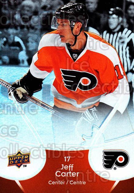 2009-10 McDonalds Upper Deck #35 Jeff Carter<br/>6 In Stock - $1.00 each - <a href=https://centericecollectibles.foxycart.com/cart?name=2009-10%20McDonalds%20Upper%20Deck%20%2335%20Jeff%20Carter...&quantity_max=6&price=$1.00&code=269229 class=foxycart> Buy it now! </a>