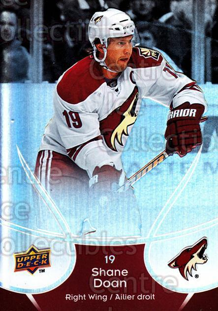 2009-10 McDonalds Upper Deck #37 Shane Doan<br/>6 In Stock - $1.00 each - <a href=https://centericecollectibles.foxycart.com/cart?name=2009-10%20McDonalds%20Upper%20Deck%20%2337%20Shane%20Doan...&quantity_max=6&price=$1.00&code=269231 class=foxycart> Buy it now! </a>