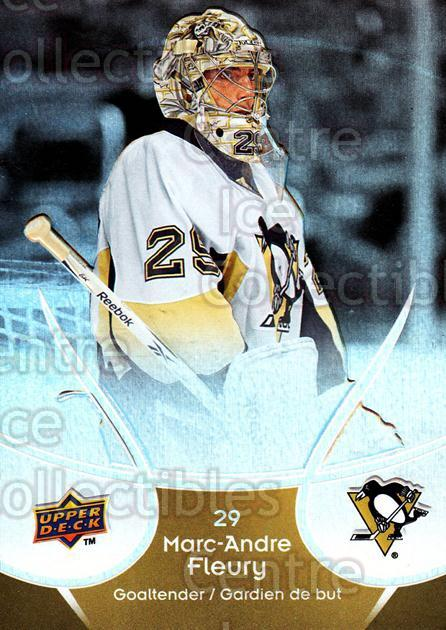 2009-10 McDonalds Upper Deck #39 Marc-Andre Fleury<br/>6 In Stock - $2.00 each - <a href=https://centericecollectibles.foxycart.com/cart?name=2009-10%20McDonalds%20Upper%20Deck%20%2339%20Marc-Andre%20Fleu...&quantity_max=6&price=$2.00&code=269233 class=foxycart> Buy it now! </a>