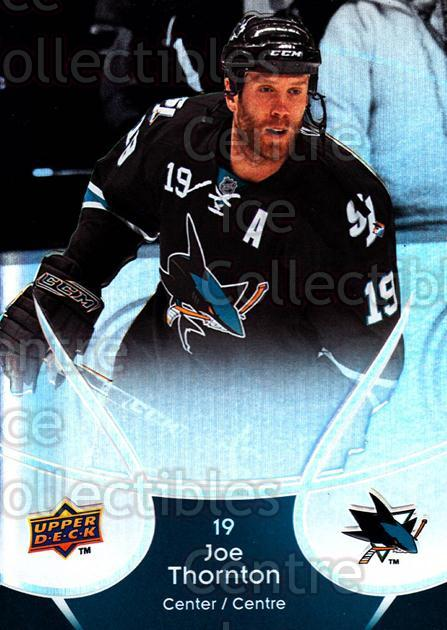 2009-10 McDonalds Upper Deck #40 Joe Thornton<br/>6 In Stock - $1.00 each - <a href=https://centericecollectibles.foxycart.com/cart?name=2009-10%20McDonalds%20Upper%20Deck%20%2340%20Joe%20Thornton...&quantity_max=6&price=$1.00&code=269234 class=foxycart> Buy it now! </a>