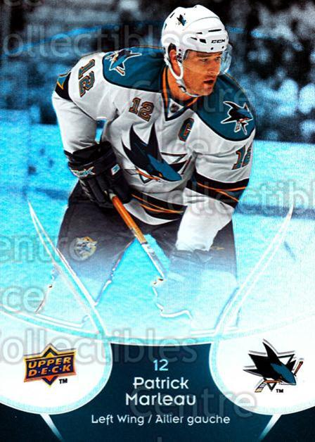 2009-10 McDonalds Upper Deck #41 Patrick Marleau<br/>6 In Stock - $1.00 each - <a href=https://centericecollectibles.foxycart.com/cart?name=2009-10%20McDonalds%20Upper%20Deck%20%2341%20Patrick%20Marleau...&quantity_max=6&price=$1.00&code=269235 class=foxycart> Buy it now! </a>