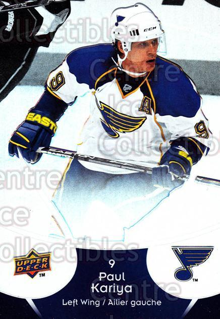 2009-10 McDonalds Upper Deck #42 Paul Kariya<br/>6 In Stock - $1.00 each - <a href=https://centericecollectibles.foxycart.com/cart?name=2009-10%20McDonalds%20Upper%20Deck%20%2342%20Paul%20Kariya...&quantity_max=6&price=$1.00&code=269236 class=foxycart> Buy it now! </a>
