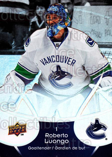 2009-10 McDonalds Upper Deck #48 Roberto Luongo<br/>4 In Stock - $1.00 each - <a href=https://centericecollectibles.foxycart.com/cart?name=2009-10%20McDonalds%20Upper%20Deck%20%2348%20Roberto%20Luongo...&quantity_max=4&price=$1.00&code=269242 class=foxycart> Buy it now! </a>