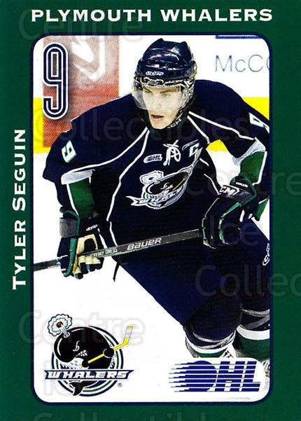 2009-10 Plymouth Whalers #26 Tyler Seguin<br/>2 In Stock - $10.00 each - <a href=https://centericecollectibles.foxycart.com/cart?name=2009-10%20Plymouth%20Whalers%20%2326%20Tyler%20Seguin...&quantity_max=2&price=$10.00&code=269282 class=foxycart> Buy it now! </a>