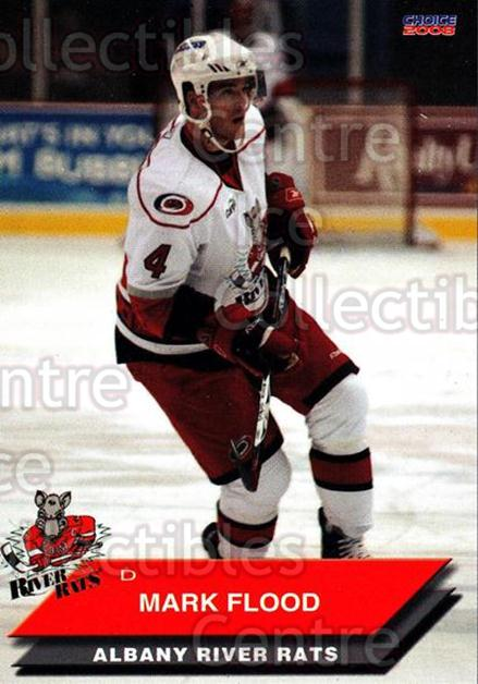 2007-08 Albany River Rats #11 Mark Flood<br/>4 In Stock - $3.00 each - <a href=https://centericecollectibles.foxycart.com/cart?name=2007-08%20Albany%20River%20Rats%20%2311%20Mark%20Flood...&quantity_max=4&price=$3.00&code=269411 class=foxycart> Buy it now! </a>