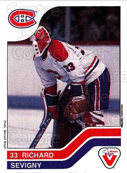 1983-84 Vachon #54 Richard Sevigny<br/>1 In Stock - $3.00 each - <a href=https://centericecollectibles.foxycart.com/cart?name=1983-84%20Vachon%20%2354%20Richard%20Sevigny...&price=$3.00&code=26955 class=foxycart> Buy it now! </a>