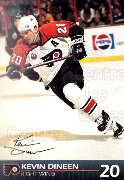 1992-93 Philadelphia Flyers Postcards #9 Kevin Dineen<br/>1 In Stock - $3.00 each - <a href=https://centericecollectibles.foxycart.com/cart?name=1992-93%20Philadelphia%20Flyers%20Postcards%20%239%20Kevin%20Dineen...&quantity_max=1&price=$3.00&code=269883 class=foxycart> Buy it now! </a>