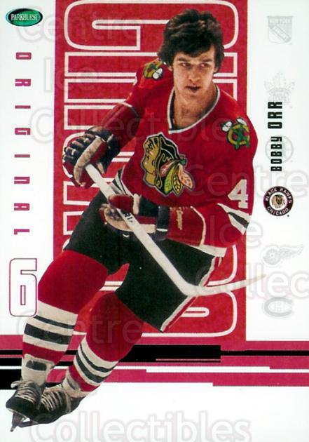 2003-04 Parkhurst Original Six Chicago Blackhawks #49 Bobby Orr<br/>1 In Stock - $5.00 each - <a href=https://centericecollectibles.foxycart.com/cart?name=2003-04%20Parkhurst%20Original%20Six%20Chicago%20Blackhawks%20%2349%20Bobby%20Orr...&price=$5.00&code=269907 class=foxycart> Buy it now! </a>