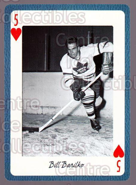 2005 Toronto Maple Leafs Legends Playing Card #18 Bill Barilko<br/>7 In Stock - $2.00 each - <a href=https://centericecollectibles.foxycart.com/cart?name=2005%20Toronto%20Maple%20Leafs%20Legends%20Playing%20Card%20%2318%20Bill%20Barilko...&quantity_max=7&price=$2.00&code=269931 class=foxycart> Buy it now! </a>