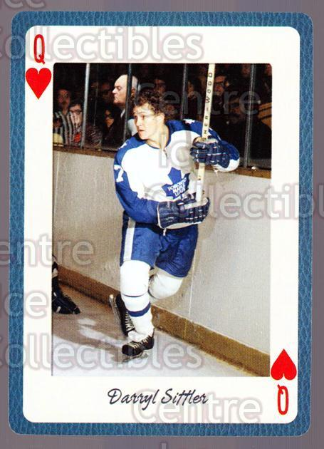 2005 Toronto Maple Leafs Legends Playing Card #25 Darryl Sittler<br/>13 In Stock - $2.00 each - <a href=https://centericecollectibles.foxycart.com/cart?name=2005%20Toronto%20Maple%20Leafs%20Legends%20Playing%20Card%20%2325%20Darryl%20Sittler...&quantity_max=13&price=$2.00&code=269938 class=foxycart> Buy it now! </a>