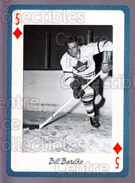 2005 Toronto Maple Leafs Legends Playing Card #44 Bill Barilko<br/>8 In Stock - $2.00 each - <a href=https://centericecollectibles.foxycart.com/cart?name=2005%20Toronto%20Maple%20Leafs%20Legends%20Playing%20Card%20%2344%20Bill%20Barilko...&quantity_max=8&price=$2.00&code=269957 class=foxycart> Buy it now! </a>
