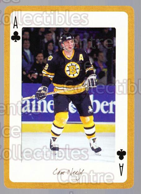 2005 Boston Bruins Legends Playing Card #27 Cam Neely<br/>12 In Stock - $2.00 each - <a href=https://centericecollectibles.foxycart.com/cart?name=2005%20Boston%20Bruins%20Legends%20Playing%20Card%20%2327%20Cam%20Neely...&quantity_max=12&price=$2.00&code=269993 class=foxycart> Buy it now! </a>