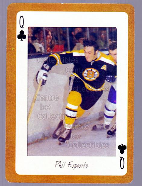 2005 Boston Bruins Legends Playing Card #38 Phil Esposito<br/>13 In Stock - $2.00 each - <a href=https://centericecollectibles.foxycart.com/cart?name=2005%20Boston%20Bruins%20Legends%20Playing%20Card%20%2338%20Phil%20Esposito...&quantity_max=13&price=$2.00&code=270004 class=foxycart> Buy it now! </a>
