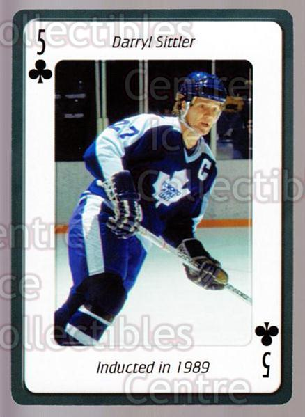 2006 Hockey Hall Of Fame Playing Card #31 Darryl Sittler<br/>4 In Stock - $2.00 each - <a href=https://centericecollectibles.foxycart.com/cart?name=2006%20Hockey%20Hall%20Of%20Fame%20Playing%20Card%20%2331%20Darryl%20Sittler...&quantity_max=4&price=$2.00&code=270049 class=foxycart> Buy it now! </a>