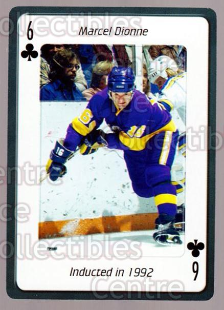 2006 Hockey Hall Of Fame Playing Card #32 Marcel Dionne<br/>4 In Stock - $2.00 each - <a href=https://centericecollectibles.foxycart.com/cart?name=2006%20Hockey%20Hall%20Of%20Fame%20Playing%20Card%20%2332%20Marcel%20Dionne...&quantity_max=4&price=$2.00&code=270050 class=foxycart> Buy it now! </a>