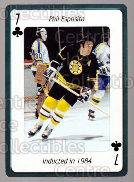 2006 Hockey Hall Of Fame Playing Card #33 Phil Esposito<br/>3 In Stock - $2.00 each - <a href=https://centericecollectibles.foxycart.com/cart?name=2006%20Hockey%20Hall%20Of%20Fame%20Playing%20Card%20%2333%20Phil%20Esposito...&quantity_max=3&price=$2.00&code=270051 class=foxycart> Buy it now! </a>
