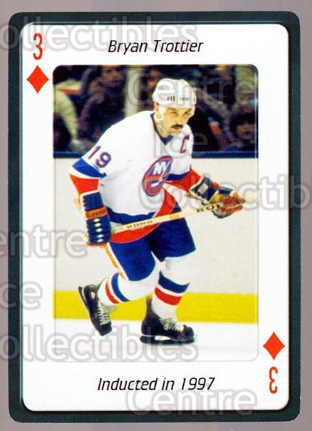 <a href=index.aspx?SetName=2006%20Hockey%20Hall%20Of%20Fame%20Playing%20Card>2006 Hockey Hall Of Fame Playing Card</a> #42 <a href=index.aspx?PlayerName=Bryan%20Trottier> Bryan Trottier</a><br/>3 in stock - $2.00 each - <a href=https://centericecollectibles.foxycart.com/cart?name=2006%20Hockey%20Hall%20Of%20Fame%20Playing%20Card%20%2342%20Bryan%20Trottier...&price=$2.00&code=270060 class=foxycart> Buy it now! </a>