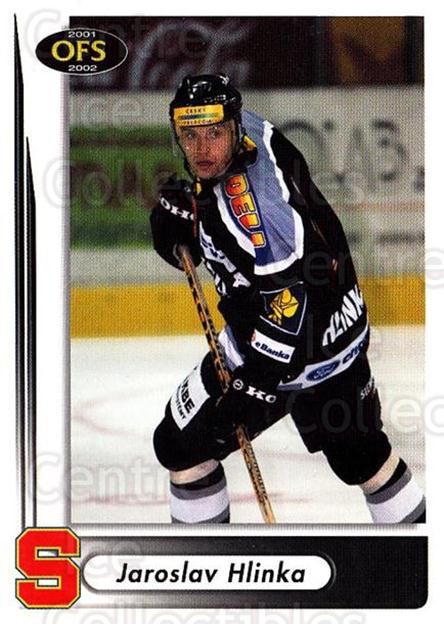 2001-02 Czech OFS #18 Jaroslav Hlinka<br/>1 In Stock - $2.00 each - <a href=https://centericecollectibles.foxycart.com/cart?name=2001-02%20Czech%20OFS%20%2318%20Jaroslav%20Hlinka...&quantity_max=1&price=$2.00&code=270079 class=foxycart> Buy it now! </a>
