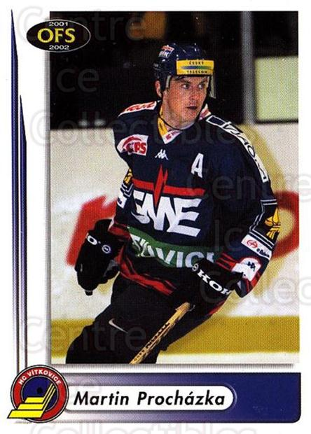 2001-02 Czech OFS #46 Martin Prochazka<br/>2 In Stock - $2.00 each - <a href=https://centericecollectibles.foxycart.com/cart?name=2001-02%20Czech%20OFS%20%2346%20Martin%20Prochazk...&quantity_max=2&price=$2.00&code=270083 class=foxycart> Buy it now! </a>
