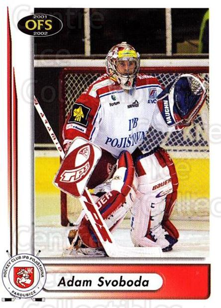 2001-02 Czech OFS #228 Adam Svoboda<br/>3 In Stock - $2.00 each - <a href=https://centericecollectibles.foxycart.com/cart?name=2001-02%20Czech%20OFS%20%23228%20Adam%20Svoboda...&quantity_max=3&price=$2.00&code=270098 class=foxycart> Buy it now! </a>