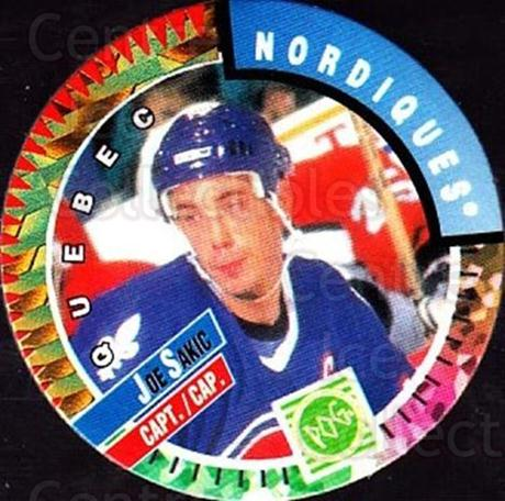 1994-95 Canada Games NHL POGS #199 Joe Sakic<br/>1 In Stock - $2.00 each - <a href=https://centericecollectibles.foxycart.com/cart?name=1994-95%20Canada%20Games%20NHL%20POGS%20%23199%20Joe%20Sakic...&price=$2.00&code=270229 class=foxycart> Buy it now! </a>