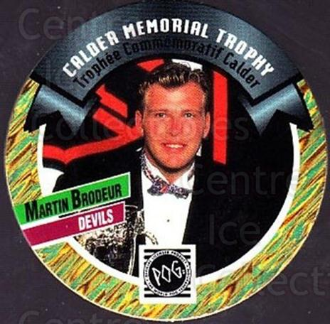 1994-95 Canada Games NHL POGS #326 Martin Brodeur<br/>1 In Stock - $3.00 each - <a href=https://centericecollectibles.foxycart.com/cart?name=1994-95%20Canada%20Games%20NHL%20POGS%20%23326%20Martin%20Brodeur...&price=$3.00&code=270241 class=foxycart> Buy it now! </a>