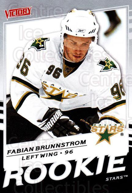 2008-09 UD Victory #305 Fabian Brunnstrom<br/>6 In Stock - $2.00 each - <a href=https://centericecollectibles.foxycart.com/cart?name=2008-09%20UD%20Victory%20%23305%20Fabian%20Brunnstr...&quantity_max=6&price=$2.00&code=270301 class=foxycart> Buy it now! </a>