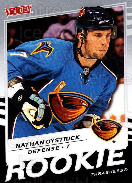 2008-09 UD Victory #307 Nathan Oystrick<br/>3 In Stock - $2.00 each - <a href=https://centericecollectibles.foxycart.com/cart?name=2008-09%20UD%20Victory%20%23307%20Nathan%20Oystrick...&quantity_max=3&price=$2.00&code=270303 class=foxycart> Buy it now! </a>