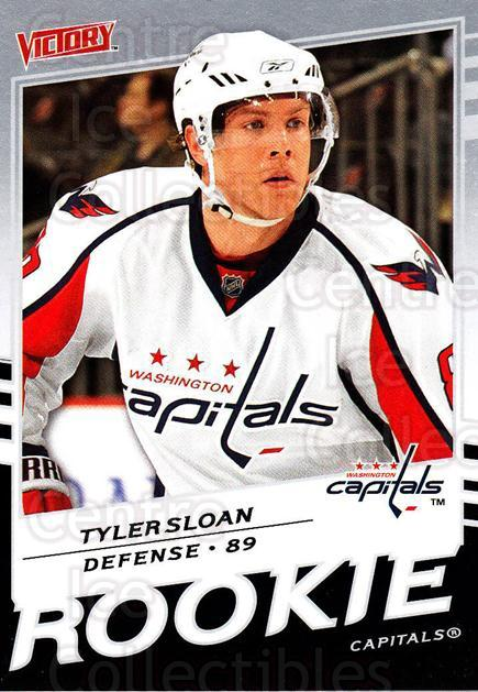 2008-09 UD Victory #313 Tyler Sloan<br/>2 In Stock - $2.00 each - <a href=https://centericecollectibles.foxycart.com/cart?name=2008-09%20UD%20Victory%20%23313%20Tyler%20Sloan...&quantity_max=2&price=$2.00&code=270309 class=foxycart> Buy it now! </a>