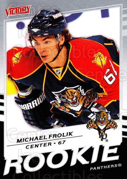 2008-09 UD Victory #326 Michael Frolik<br/>5 In Stock - $2.00 each - <a href=https://centericecollectibles.foxycart.com/cart?name=2008-09%20UD%20Victory%20%23326%20Michael%20Frolik...&quantity_max=5&price=$2.00&code=270322 class=foxycart> Buy it now! </a>