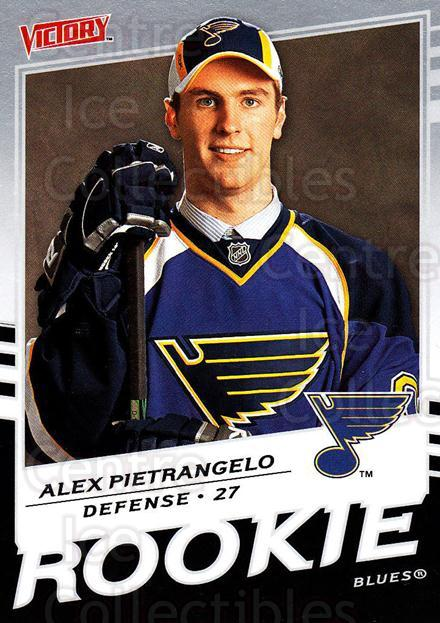 2008-09 UD Victory #340 Alex Pietrangelo<br/>3 In Stock - $2.00 each - <a href=https://centericecollectibles.foxycart.com/cart?name=2008-09%20UD%20Victory%20%23340%20Alex%20Pietrangel...&quantity_max=3&price=$2.00&code=270336 class=foxycart> Buy it now! </a>