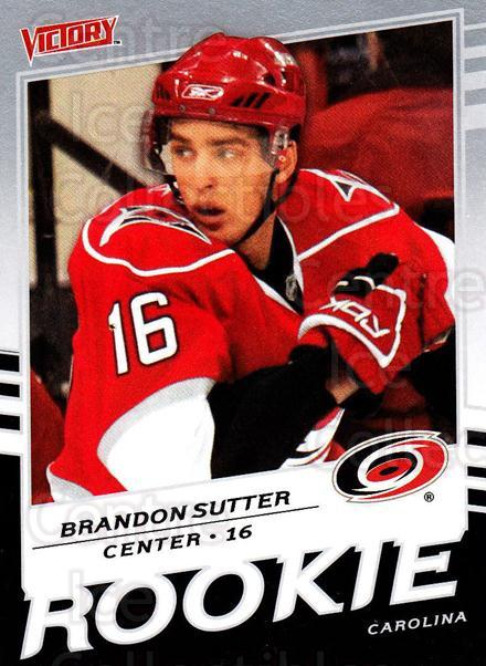 2008-09 UD Victory #348 Brandon Sutter<br/>4 In Stock - $2.00 each - <a href=https://centericecollectibles.foxycart.com/cart?name=2008-09%20UD%20Victory%20%23348%20Brandon%20Sutter...&price=$2.00&code=270344 class=foxycart> Buy it now! </a>