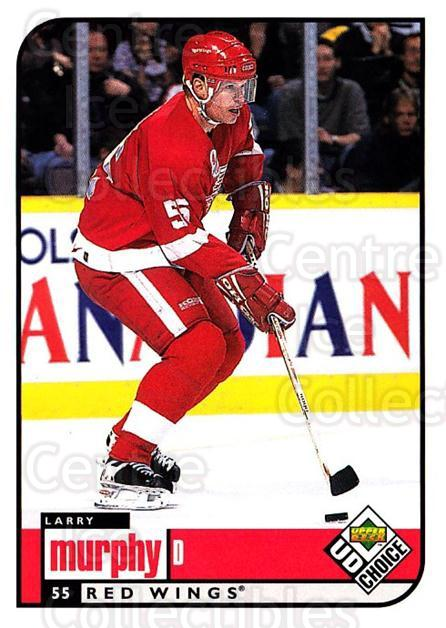 1998-99 UD Choice #70 Larry Murphy<br/>2 In Stock - $1.00 each - <a href=https://centericecollectibles.foxycart.com/cart?name=1998-99%20UD%20Choice%20%2370%20Larry%20Murphy...&quantity_max=2&price=$1.00&code=270392 class=foxycart> Buy it now! </a>