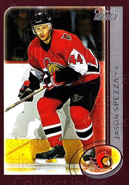 2002-03 O-Pee-Chee #335 Jason Spezza<br/>1 In Stock - $3.00 each - <a href=https://centericecollectibles.foxycart.com/cart?name=2002-03%20O-Pee-Chee%20%23335%20Jason%20Spezza...&quantity_max=1&price=$3.00&code=270430 class=foxycart> Buy it now! </a>