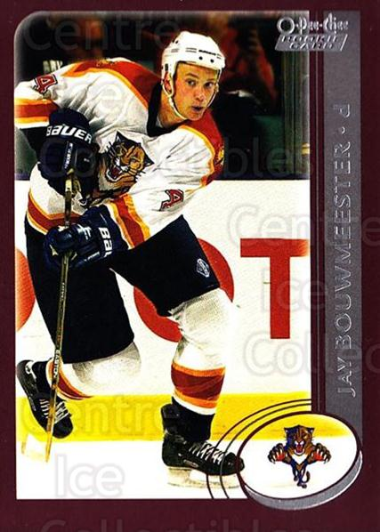2002-03 O-Pee-Chee #336 Jay Bouwmeester<br/>1 In Stock - $2.00 each - <a href=https://centericecollectibles.foxycart.com/cart?name=2002-03%20O-Pee-Chee%20%23336%20Jay%20Bouwmeester...&quantity_max=1&price=$2.00&code=270431 class=foxycart> Buy it now! </a>