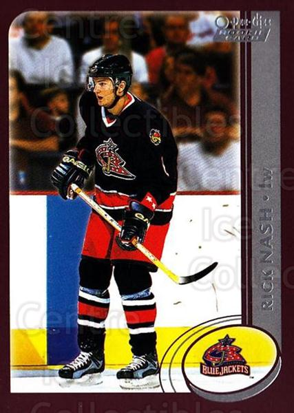2002-03 O-Pee-Chee #338 Rick Nash<br/>1 In Stock - $5.00 each - <a href=https://centericecollectibles.foxycart.com/cart?name=2002-03%20O-Pee-Chee%20%23338%20Rick%20Nash...&price=$5.00&code=270432 class=foxycart> Buy it now! </a>