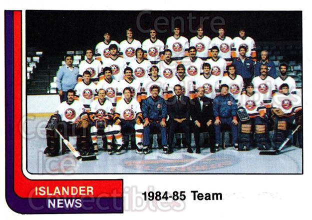 1984-85 New York Islanders News #36 New York Islanders, Team Photo, Checklist<br/>5 In Stock - $2.00 each - <a href=https://centericecollectibles.foxycart.com/cart?name=1984-85%20New%20York%20Islanders%20News%20%2336%20New%20York%20Island...&price=$2.00&code=27046 class=foxycart> Buy it now! </a>